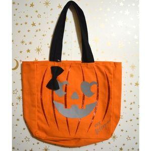 NWT Betsey Johnson Pumpkin Halloween Tote